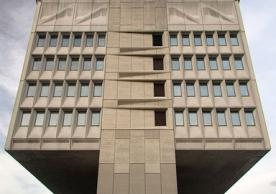 Armstrong Rubber Building by Marcel Breuer